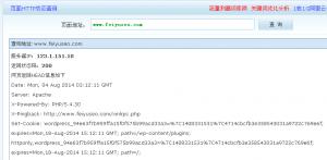 网站http状态码查询工具